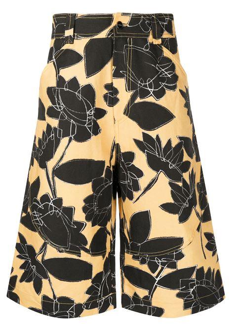 JACQUEMUS Shorts JACQUEMUS | Bermuda Shorts | 205PA082050727FPRNTYLLWFLWR