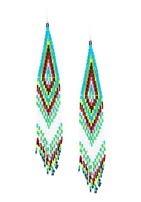 Orecchini lunghi con perline JESSIE WESTERN | Orecchini | LONGBEADESEARRINGSMLTBL