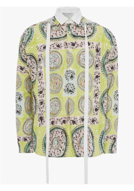 Camicia con stampa paisley JW ANDERSON | Camicie | SH0016PG0151510