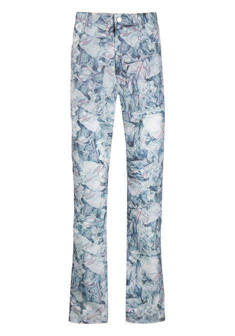 Pantaloni taglio straight KANGHYUK | Pantaloni | PRMA20SST02BL