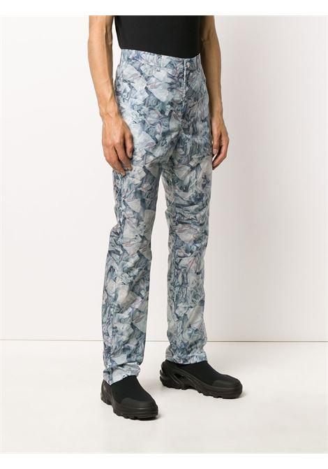 Printed straight-leg trousers KANGHYUK | PRMA20SST02BL
