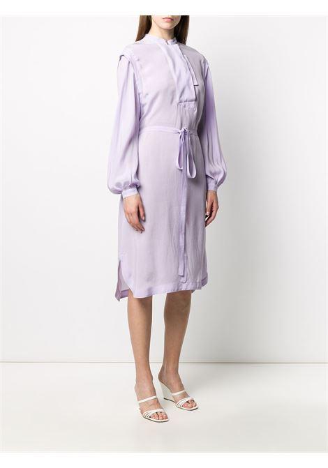 Mandarin collar midi dress MAISON FLANEUR | 20SMDDR100TP125LLC