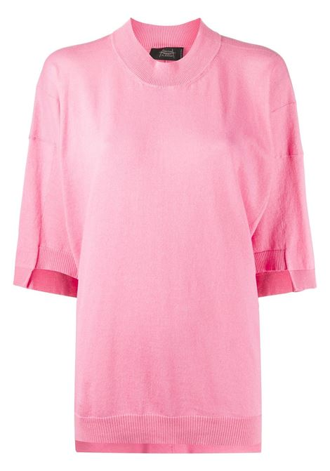 MAISON FLANEUR T-shirt MAISON FLANEUR | T-shirt | 20SMDSW101FJ006PNK