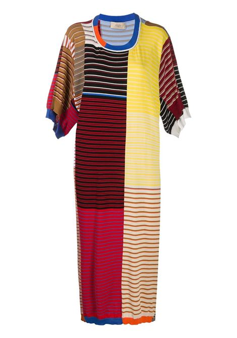 Knitted colour block dress MAISON FLANEUR | Dresses | 20SMDSW450FC018MXD