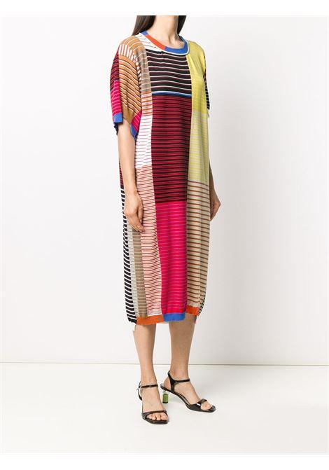 Knitted colour block dress MAISON FLANEUR | 20SMDSW450FC018MXD