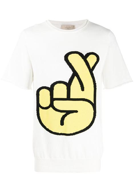 MAISON FLANEUR T-shirt MAISON FLANEUR | T-shirt | 20SMUSW305FC018WHT