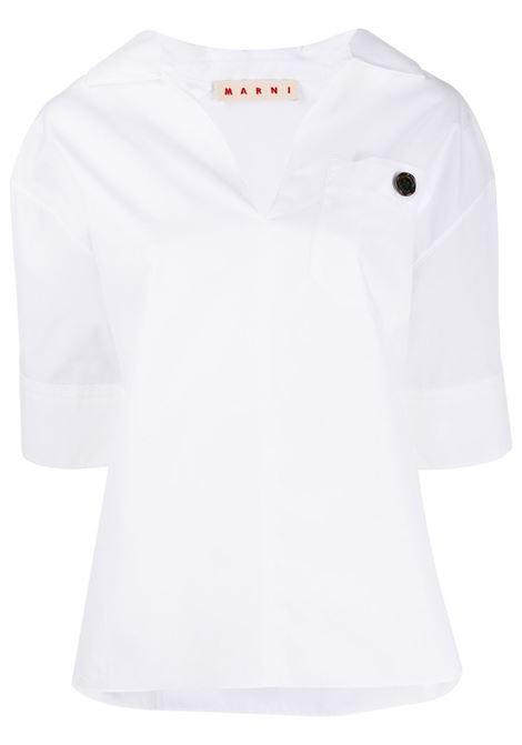 Collared T-shirt MARNI | T-shirt | CAMA0269A0TCW6400W01