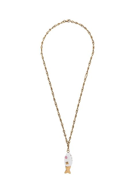 Fish pendant necklace MARNI | Necklaces | COMV0165A0M200000W01