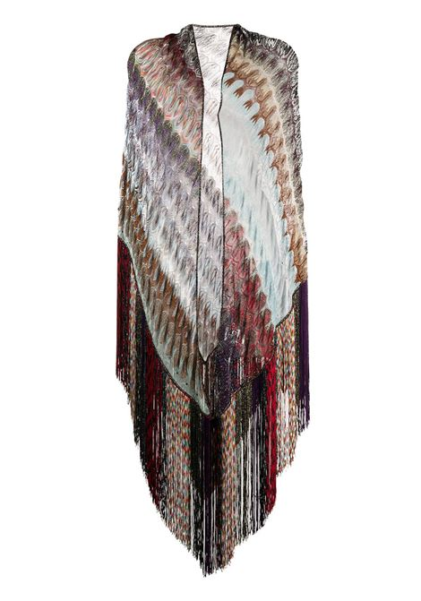 Fringe-trimmed scarf MISSONI   MDS00009BR007XSM0XQ
