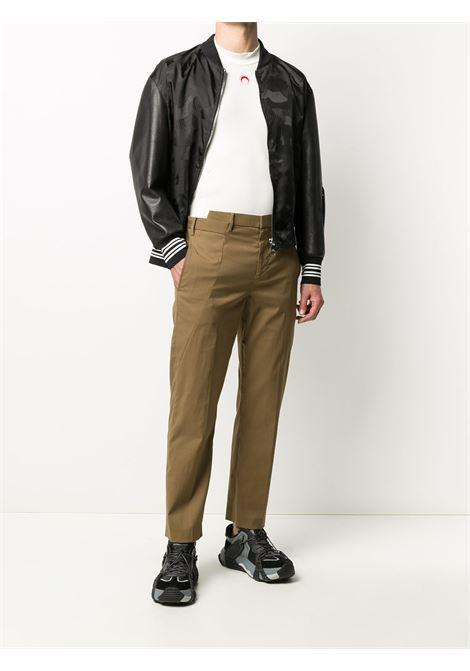 Trousers folded waistband chino trousers NEIL BARRETT | BPA776N073232