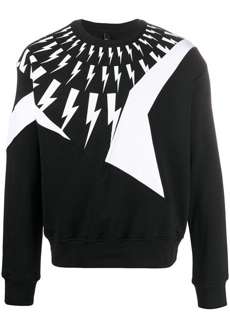 NEIL BARRETT Thunderbolt sweatshirt NEIL BARRETT | Sweatshirts | PBJS593SN539P1118
