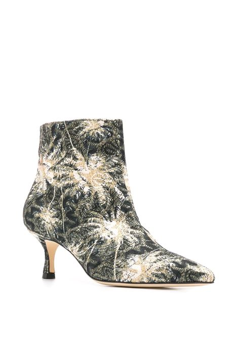 Janis floral ankle boots POLLY PLUME | JANISBLK
