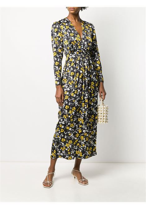 Floral-print V-neck dress RACIL | RS10D18F074