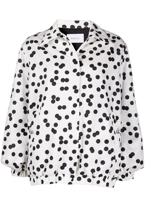 Oversized polka dot shirt jacket RACIL | Outerwear | RS10J9F073
