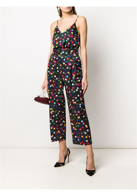 Spot print cropped trousers RACIL | RS10P5F072