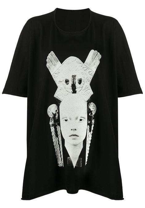 RICK OWENS DRKSHDW RICK OWENS DRKSHDW | T-shirt | DS20S5207RNEP40908