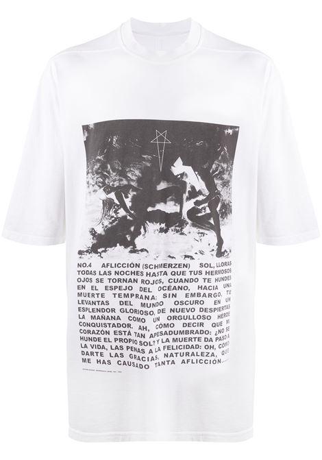 RICK OWENS DRKSHDW T-shirt RICK OWENS DRKSHDW | T-shirt | DU20S5274RNEP111009