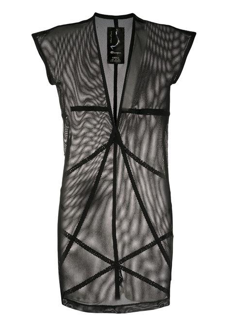 Sheer mesh T-shirt RICK OWENS X CHAMPION | T-shirt | CW20S001111365709