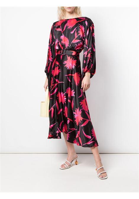 Carnation print midi dress SALONI | 102451412