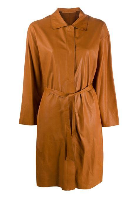 Cappotto con cintura SALVATORE SANTORO | Capispalla | 38064DWHSKY
