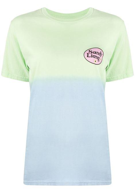 SANDY LIANG T-shirt SANDY LIANG | T-shirt | SLSS20KN2UGRNBL