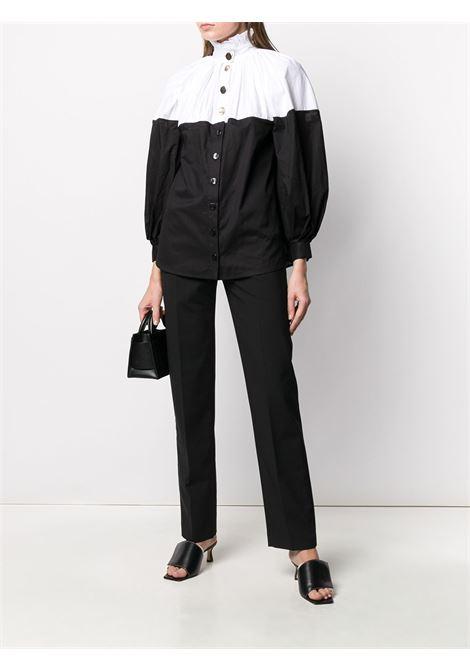 High-waisted straight-leg trousers SEEN USERS | SEEN0622BBK02