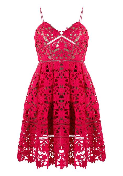 SELF-PORTRAIT Dress SELF-PORTRAIT   Dresses   SS20119WHTPNK