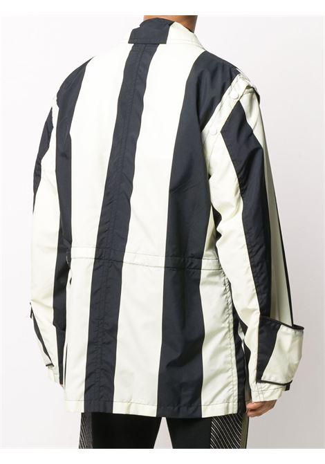 Oversized stripe-print jacket SUNNEI | MJ03BCR05WBKS