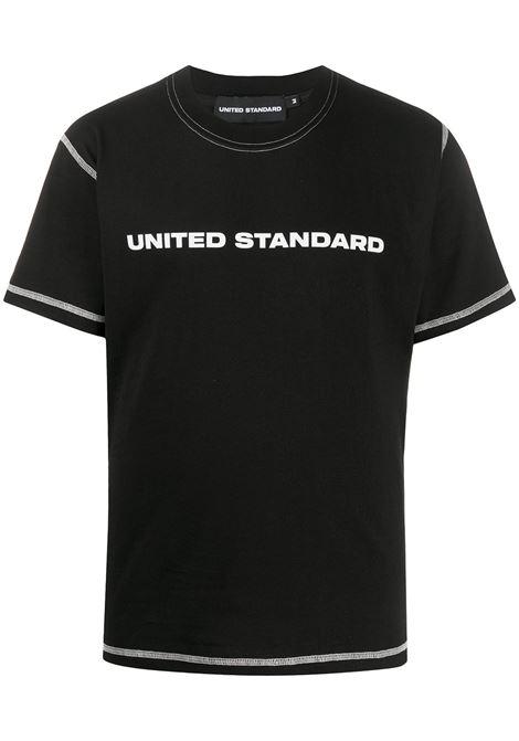 UNITED STANDARD T-shirt UNITED STANDARD | T-shirt | 20SUSTS01BLK
