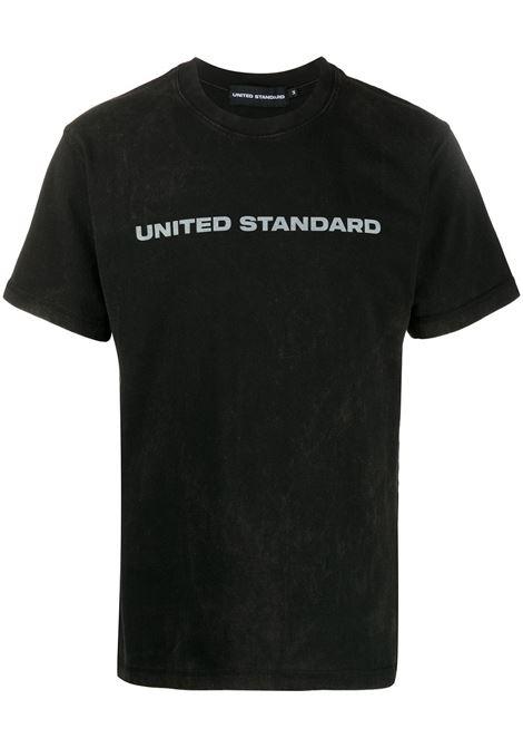 UNITED STANDARD T-shirt UNITED STANDARD | T-shirt | 20SUSTS02BLK