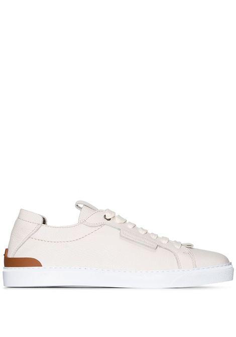 Deer Trip stitch leather sneakers Z ZEGNA | Sneakers | LHCVOA4454XBIA
