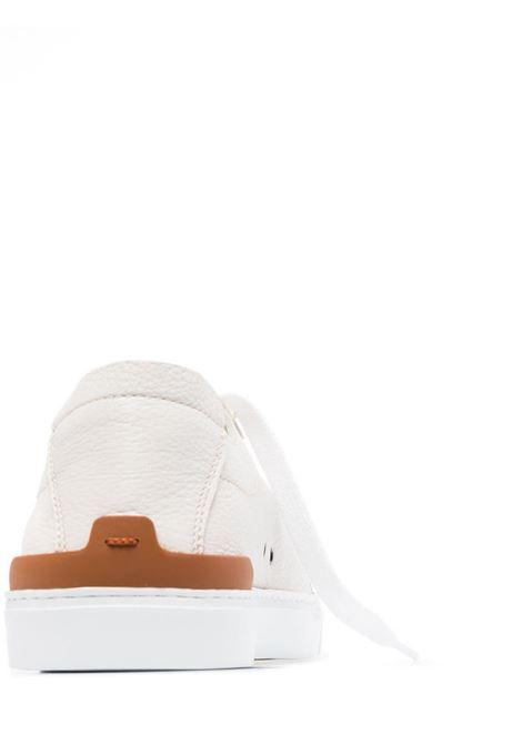 Deer Trip stitch leather sneakers Z ZEGNA | LHCVOA4454XBIA