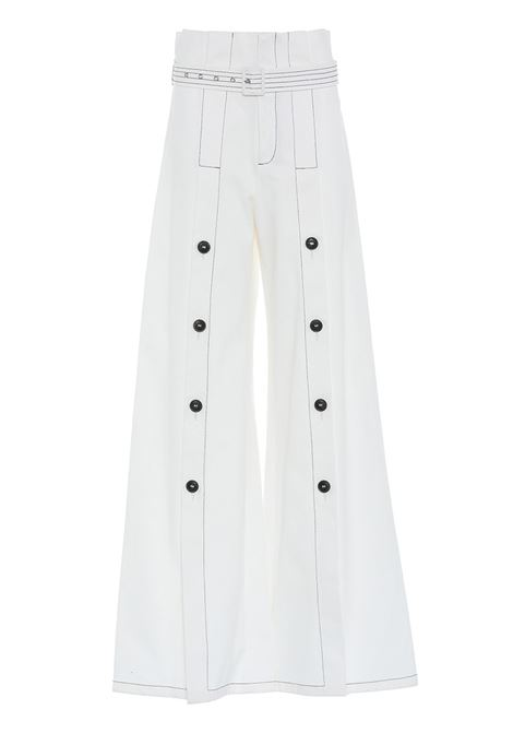 Trousers with detail APNOEA | Trousers | PAP05BNC