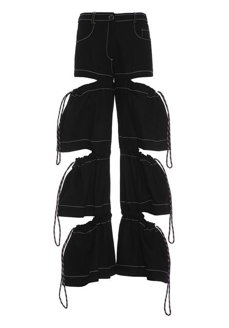 Trousers with coulisse APNOEA | Trousers | PAP08NR