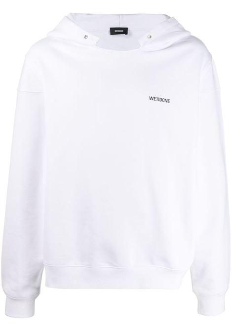 WE11DONE Hoodie WE11DONE   Sweatshirts   WDTP220717UWHWHT