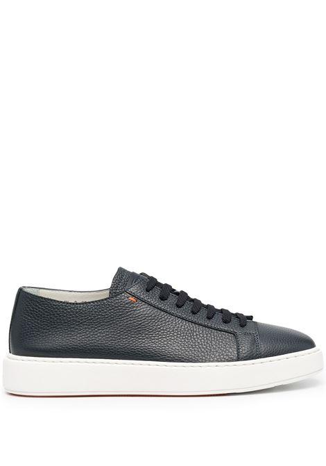 Santoni sneakers heren uomo blue Santoni | Sneakers | MBCD21430BARCMMDU55