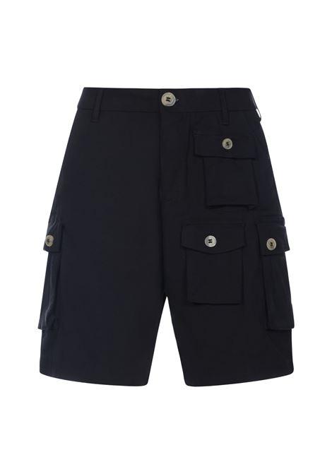 Multi pocket bermuda shorts black- men 13 | MOUNTANARINGNR