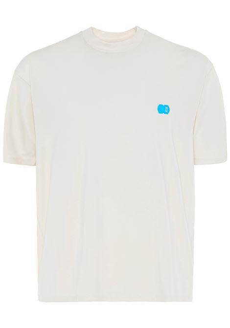 13 t-shirt con logo uomo crema 13 | T-shirt | SUNLOGOCRM