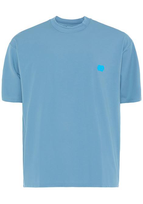 13 t-shirt con logo uomo turchese 13 | T-shirt | SUNLOGOTRCHS