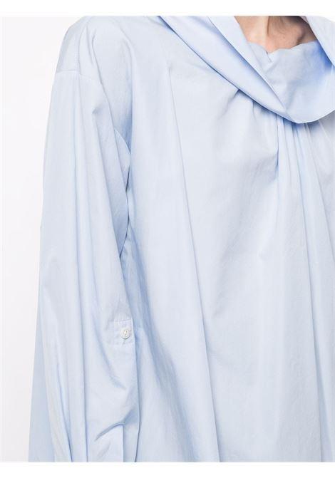 High neck shirt light blue- women  3.1 PHILLIP LIM | E2112730COTOX450