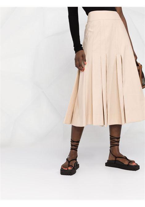 Long pleated skirt beige- women 3.1 PHILLIP LIM | S2123168OTOBE250