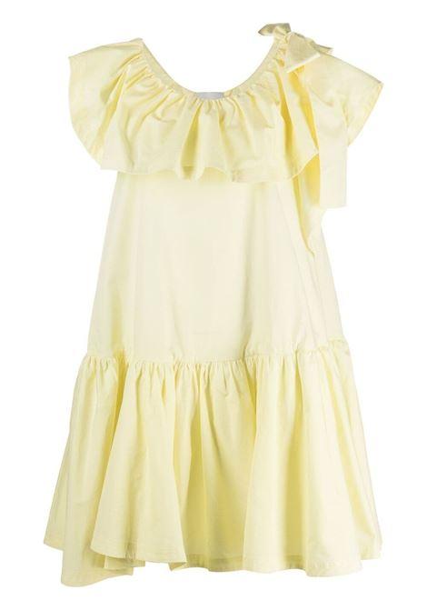 3.1 phillip lim abito con ruches donna pale yellow 3.1 PHILLIP LIM | Abiti | S2129217HOTPA740