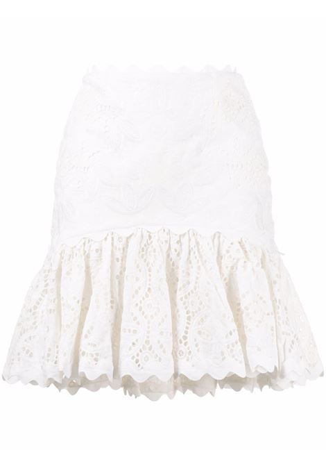 Acler broderie skirt women natural ACLER | Skirts | AL201002SNTRL