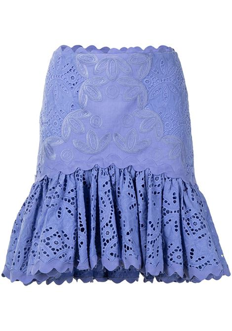Acler broderie anglaise skirt women wedge wood ACLER | Skirts | AL201002SWDGWD