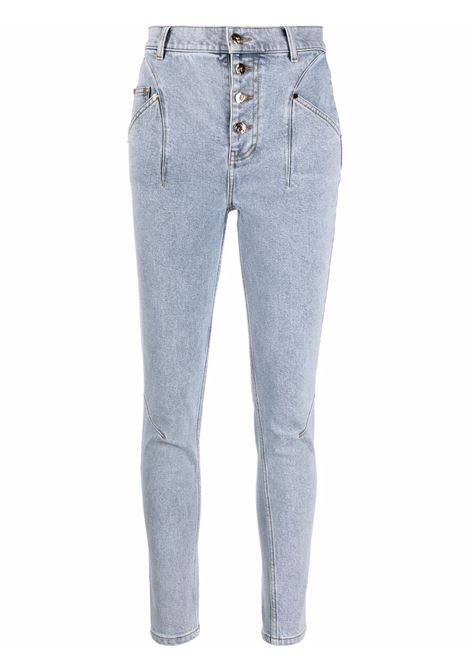 Acler high-rise jeans women blue wash ACLER | Jeans | AL201007PBLWSH