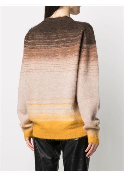 Cardigan con motivo righe orizzontali multicolore - donna ACNE STUDIOS | A60269BKF