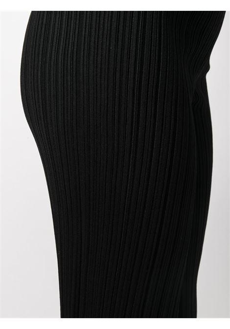 Pantaloni slim elasticizzato nero- donna ACNE STUDIOS | AK0372900
