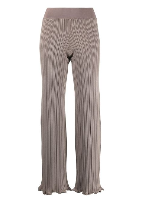 Ribbed trousers ACNE STUDIOS | Trousers | AK0372CGZ
