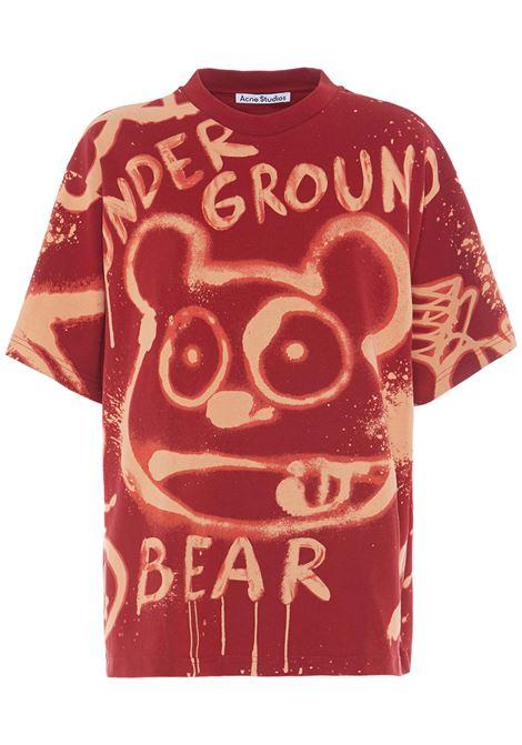 T-shirt Edra Donna ACNE STUDIOS | AL0207ACI