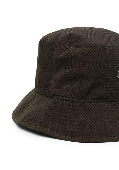 Capello bucket con logo verde- uomo ACNE STUDIOS | C40147CA3